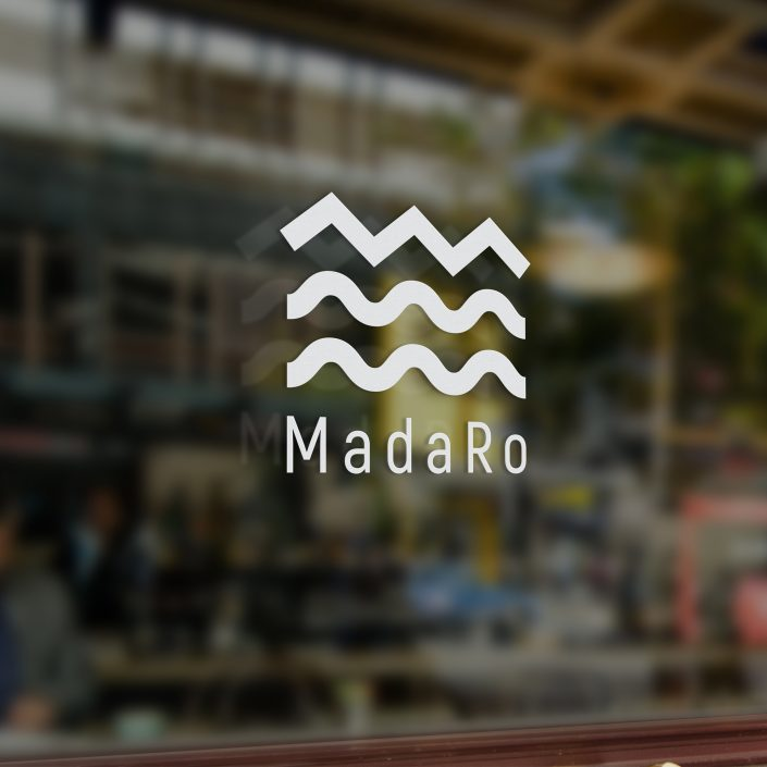 Graphic identity for Malmö based restaurant MadaRo