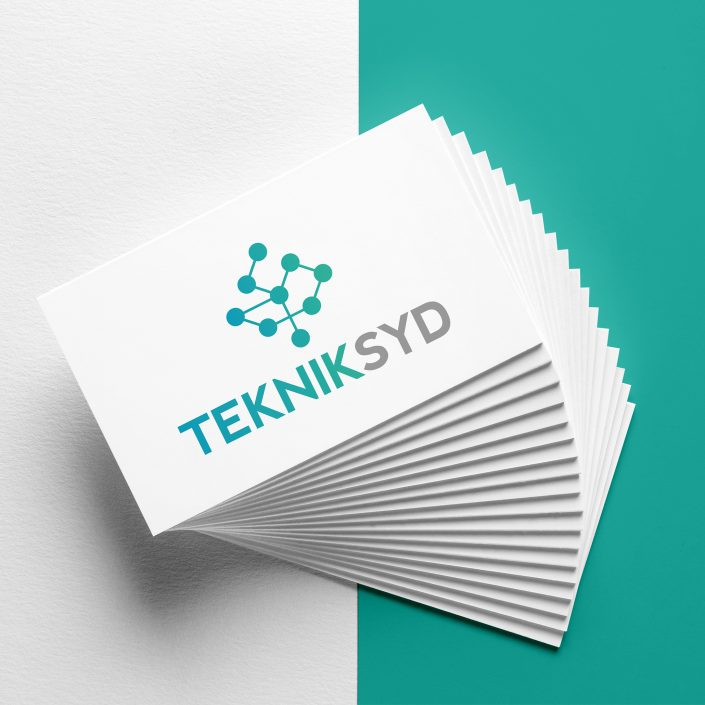 Graphic design for industrial communication company TeknikSyd