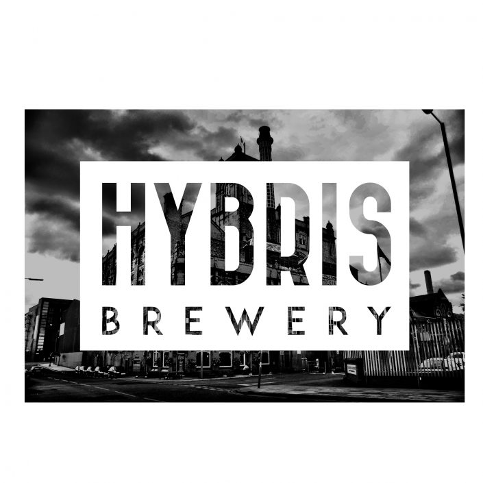Graphic identity for Gothenburg based beer brewery - Hybris Brewery.