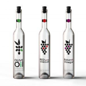 Conceptual graphic identity and packaging design for Italian Badia di Coltibuono.